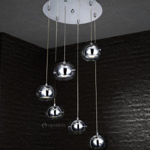 Κρεμαστό μοντέρνο 6φ LED