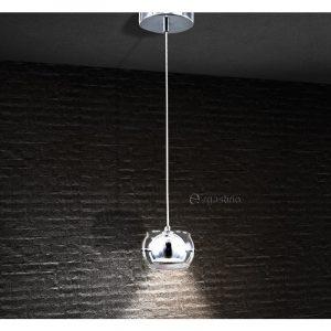 Κρεμαστό μοντέρνο με γυαλί 1φ LED