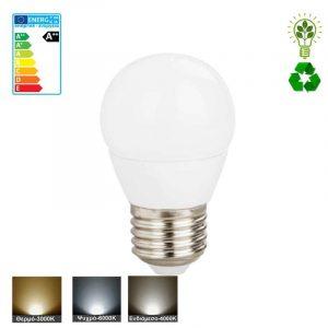 λαμπτήρας-LED-E27-σφαιρικό-μικρό