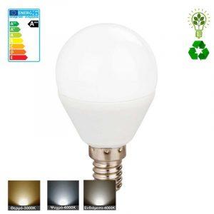 λαμπτήρας LED E14 σφαιρικό μικρός