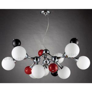 Mοντέρνο φωτιστικό μοριακή δομή