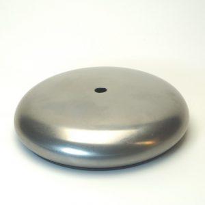 Βάση φωτιστικών μεταλλική κυκλική με καπάκι