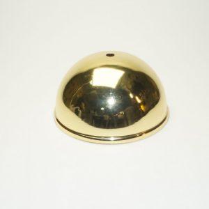 Ορειχάλκινο γυαλιστερό εξάρτημα φωτιστικών Φ14,8 εκ.