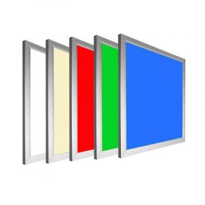 LED panel με λευκό πλαισιο SLIM Dimmable RGB