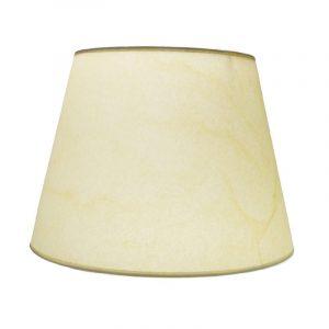Αμπαζούρ κώνος | Γαζέλα Εκρού με διάφανο ή λευκό εσωτερικό