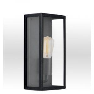 Φωτιστικό απλίκα ανοξείδωτη σε μαύρο 1φωτη