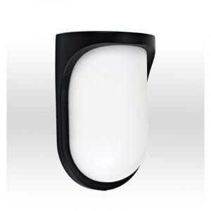 Φωτιστικό απλίκα πλαστική σε μαύρο 1φωτη