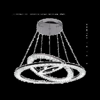 φωτιστικό με led φωτισμό μοντέρνο με κρύσταλλα